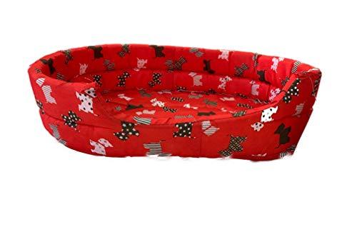 Ducomi® Fufy 2 - Cama perros gatos Oxford, suave