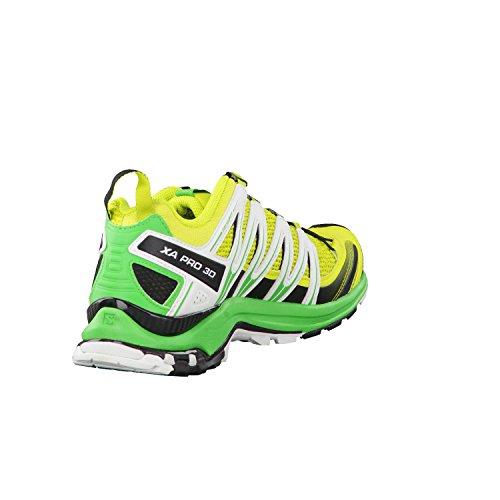 Salomon XA Pro 3D, Chaussures de randonnée homme vert jaune