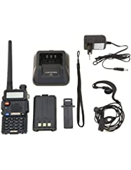 Baofeng Uv-5R - Radio marina, negro