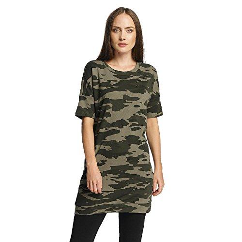 JACQUELINE de YONG Damen Oberteile / T-Shirt jdyAdda Camouflage