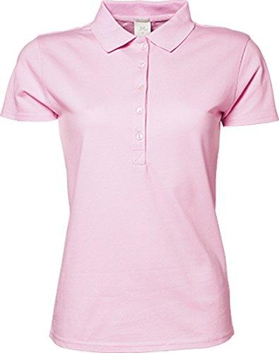 TJ145 Ladies Luxury Stretch Polo, Farbe:Light Pink;Größen:XL -