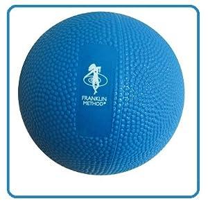 Franklin Fascia Grip Ball | Ø 9 cm, 500 g (mit Wasser gefüllt) | Myofascia Faszien Ball | Triggerpunkt-Therapie | Fußmassage | Reflexologie