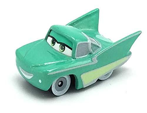 Mattel Disney Cars FBG74 Cars 3 Mini Racer, Racers aus Metall, Auto Fahrzeuge Modelle zur Auswahl (FPR90 - Radiator Springs Serie - Flo)