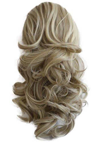 PRETTYSHOP 40cm Haarteil Zopf Pferdeschwanz Haarverdichtung Haarverlängerung VOLUMINÖS 40cm hellblond mix 24H613 PH209