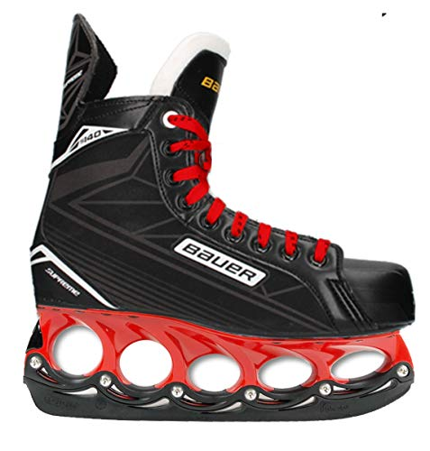 T-Blade 43 Red Bauer tblade Schlittschuhe Supreme Red Edition (43)