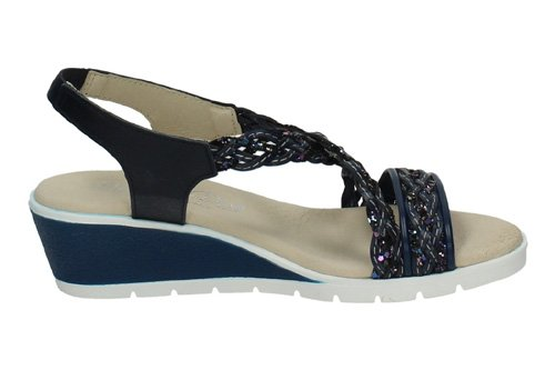 MADE IN SPAIN , Tongs pour femme Bleu Marine