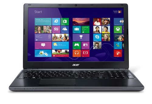 Acer  39,6 cm (15,6 Zoll) Notebook (Intel Core i5 4200U, 1,6GHz, 4GB RAM, 500GB HDD, AMD Radeon HD 8750M,  Win 8) schwarz