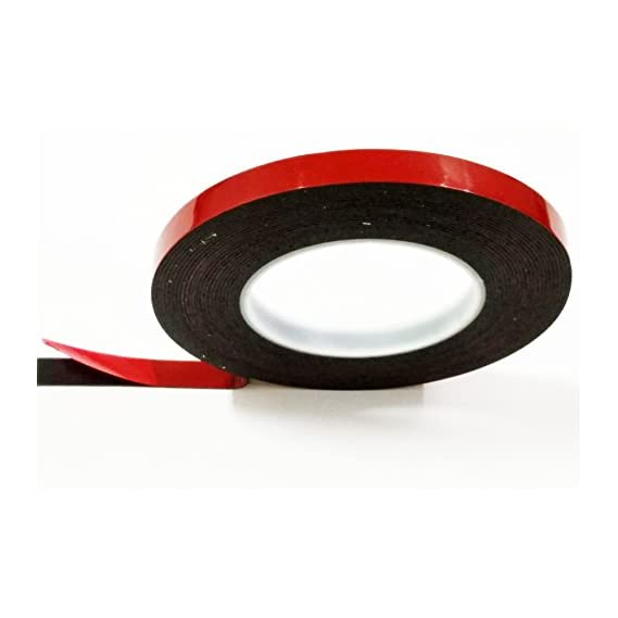 Bapna Double Sided Ghb Tapes 12 MM Width X 8 Meter Length Black