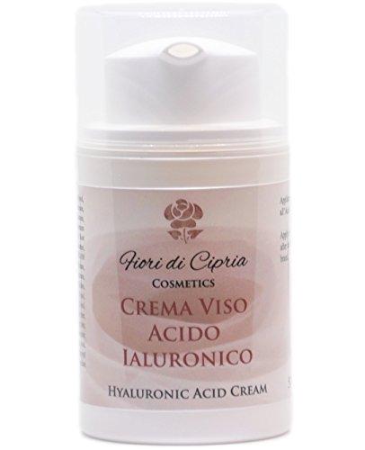 Hyaluronsäure Creme - Diese Feuchtigkeit-Creme Enthält Hyaluronsäure, Vitamine Und Antioxidantien. Dies Hydratisiert Und Mildert Falten. - Made In Italy - 50 Ml