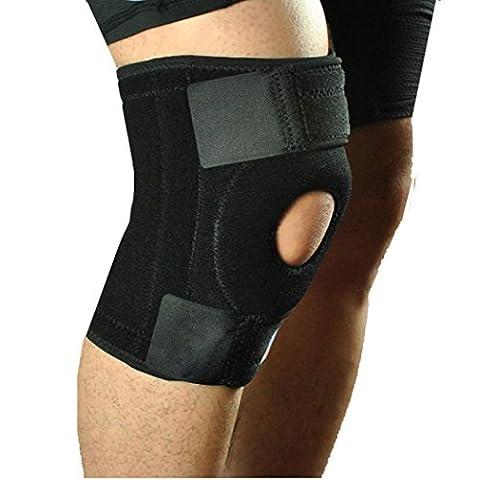 Bovake support de ceinture de Patella Brace genou en néoprène élastique Fermeture Sangle réglable