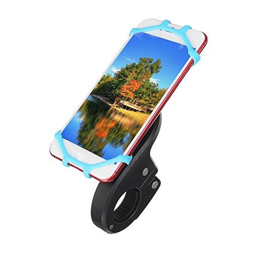 Wooya Universelle Silikon-Telefon-Holder-Lenkbar Mount for Motorcycle Electric Bicycle Scooter