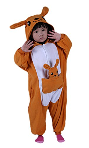 �m Tier Pyjamas Jumpsuit Fasching Onesie Kinder Karneval Cosplay Nachtwäsche ()
