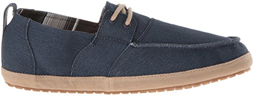 Sanuk Mens Admiral Boat Shoe, Tan, 10 M US Navy/Tan