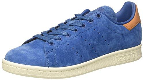adidas Stan Smith, Sneaker a Collo Basso Unisex – Adulto Blu (Core Blue/Core Blue/Off White)