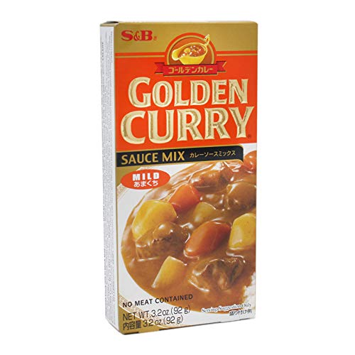 S/s Sauce (Sparpaket! S&B Golden Curry Sauce Mix mild 12x92g)
