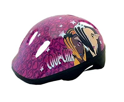 COYOTE BICYCLE CYCLE BIKE CHILDS KIDS JUNIOR BMX GIRLS COOL CHIX HELMET 48-54cm by Coyote
