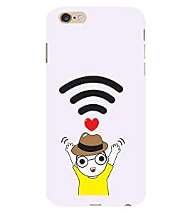Vizagbeats WIFI Boy Love Back Case Cover for Apple I Phone 6S Plus