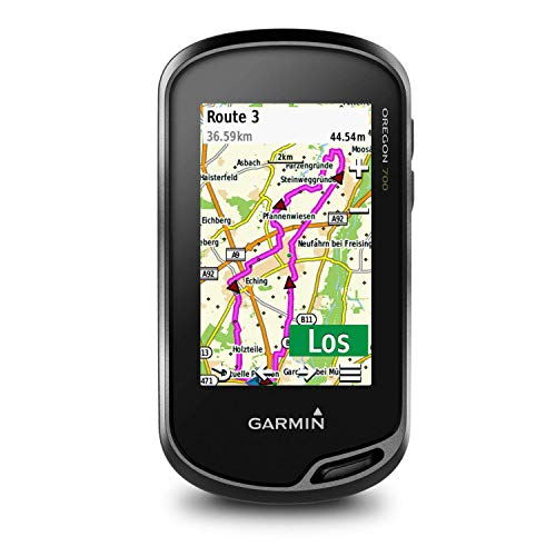 Garmin Oregon 700 - robustes, wasserdichtes GPS-Outdoor-Navi mit 3