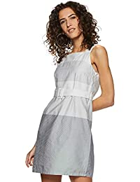 VERO MODA Women's Cotton A-Line Dress
