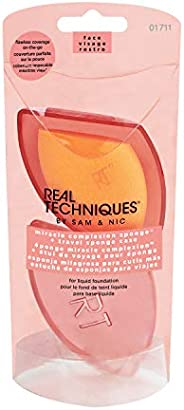 Real Techniques Miracle Complexion Sponge with Travel Sponge Case