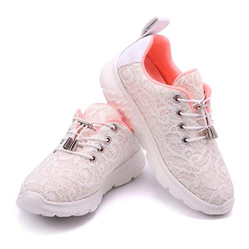 l Schuhe, Damen LED Sneaker Blinkt Sport Leuchten USB Lade Laufen Wanderschuhe Outdoor Rutschfeste Lightweight Gym Gesundheit Ausbildung Fitness Wiederaufladbare Laufschuhe ()
