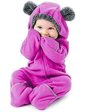 Funzies Fleece Baby Pyjama – Niedlicher Tier Onesie für Mädchen und Jungen – Onesie Kostüm, Strampler, Schneeanzug...