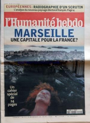 HUMANITE (L') [No 17058] du 19/06/1999
