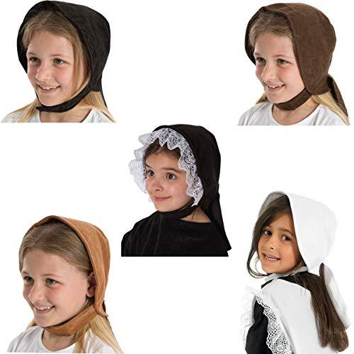 Tan Brown Victorian Edwardian Girls fancy dress - Children's Charlie Brown Kostüm