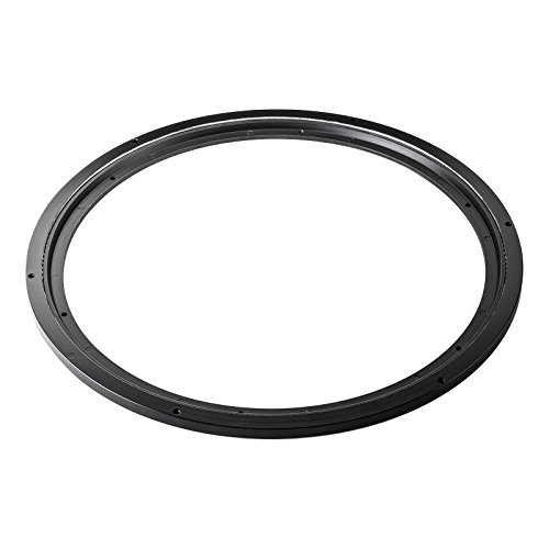 SO-TECH® Ø 450 mm Drehteller Drehscheibe schwarz Kugellenkkranz Lenkkranz Drehring Drehkranz Belastbarkeit bis 350 kg