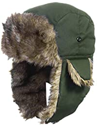 Amazon.it  Verde - Cappelli aviatore   Cappelli e cappellini ... 9e988ffd6222