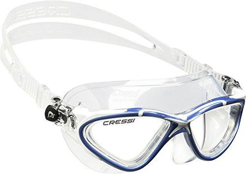 cressi-planet-gafas-de-natacion-unisex-color-transparente-azul-blanco
