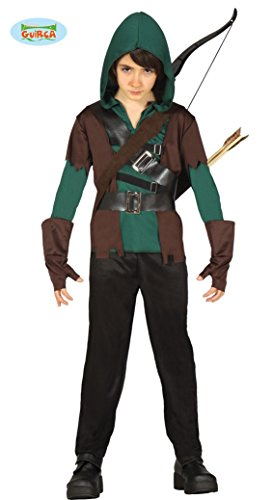 Robin Halloween Kostüme (Kostüm Bogenschütze Waldläufer 10-12)