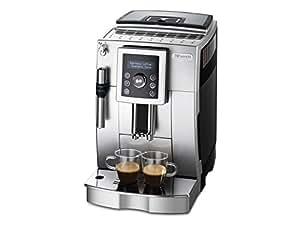 DeLonghi ECAM 23.420.SB Kaffee-Vollautomat Cappuccino (1,8 Liter, Dampfdüse) silber/schwarz