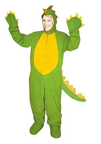 Dinosaurier Einheitsgrösse L - XL Drache Dino Kostüm Fasching Karneval (Feuer Drachen Kostüm)