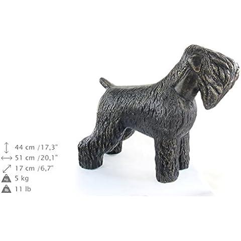 TerrierRuso Negro, perro estatua, ArtDog