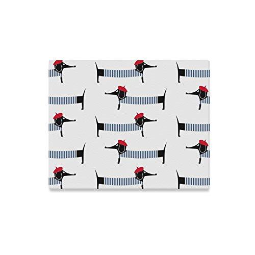 JOCHUAN Wandkunst Malerei Französisch Stil Hund Nette Drucke Auf Leinwand Das Bild Landschaft Bilder Öl Für Zuhause Moderne Dekoration Druck Dekor Für Wohnzimmer