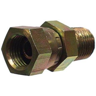 Apache Hose Belting, Inc. 39004375 Male x Female Straight Adapter