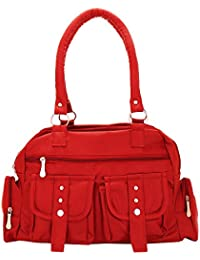 Handbag For Woman/Ladies Stylish And Designer Shoulder Bag Colour Red By Lady Bar