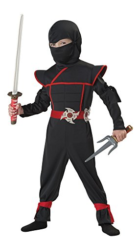 Stealth Ninja Toddler Costume, 4-6 by California Costumes (Stealth-ninja-kostüm Kind)