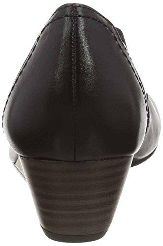 Tamaris 22320, Sandales platefrome  femme Noir - Noir