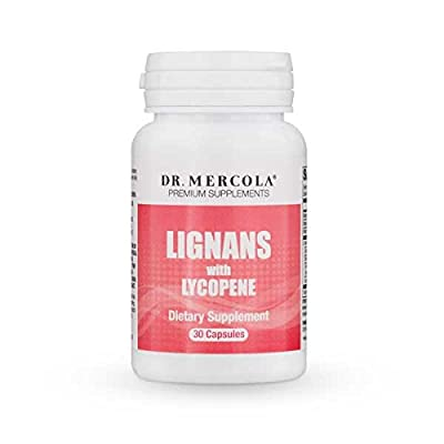 Dr Mercola Lignans with Lycopene, 30 Capsules (30 Capsules) by Dr Mercola