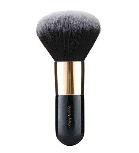 NiSeng Pinceaux Maquillage Cheveux Doux Blush Pinceau Cosmétique Noir