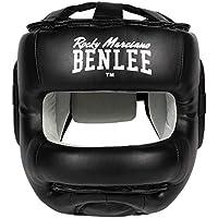 BenLee Head Guard Faux Leather Facesaver, Color:Black, Talla:S/M