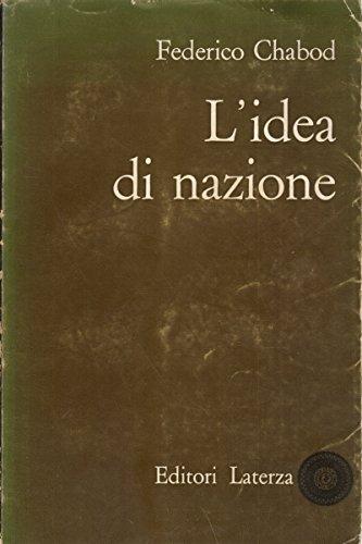Idea di nazione (L')