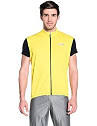 NALINI Chaleco para Ciclismo Fiuggi Amarillo 2XL