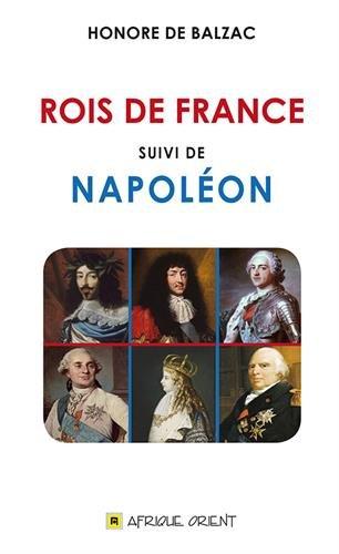 Rois de France suivi de Napoléon