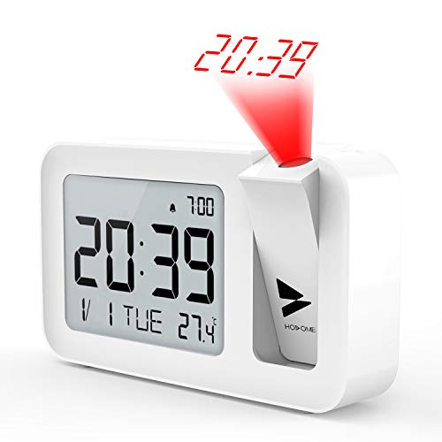 Hosome Reloj Despertador Digital Despertador