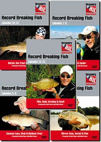 Record Breaking Fish - The Great Rod Race - Preaented By Matt Hayes With Mick Brown 10 DVD BOXSET