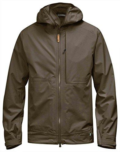 FjallRaven Veste de pluie Abisko Eco-Shell Jacket - tarmac brown 246