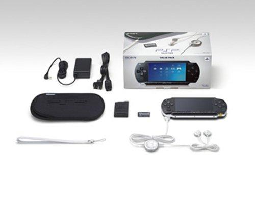 PlayStation Portable - PSP Konsole Black (Value Pack)